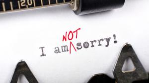 Lucruri pentru care nu trebuie sa iti ceri scuze