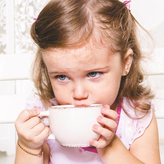 Ceaiul in alimentatia copilului