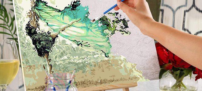 De ce pictura pe numere este chiar si pentru cei fara talent? Afla cu Pictorul Fericit